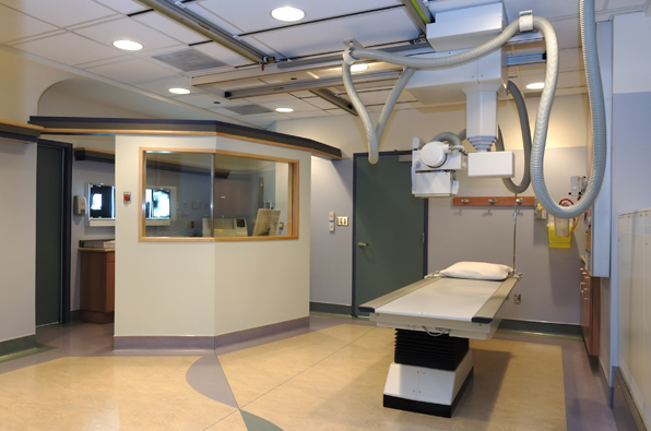 ترصيص غرف الأشعة